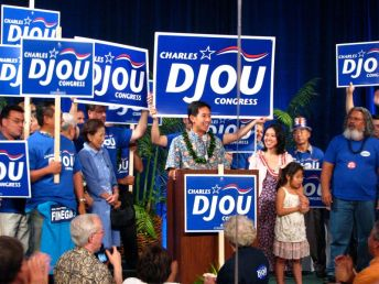 Charles Djou & Supporters