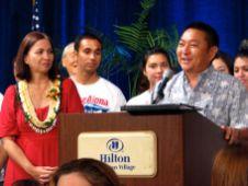 Former Democrat Senator David Matsuura