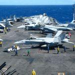 Flight Deck USS Ronald Reagan