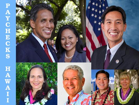 PAYCHECKS HAWAII Candidate Endorsements