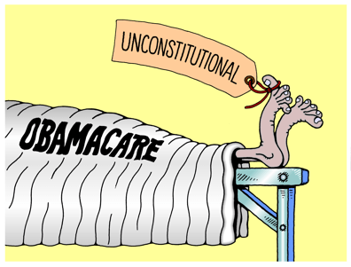 Obama Care ruled unconstitutional by Federal Judge.