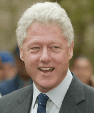 Former President Bill Clinton issued the apology resolution