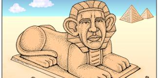 Pharaoh Obama - Talk like an Egyptian