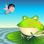 Lybia No-Fly Zone cartoon