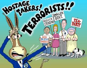Democrats, Mainstream Media berate Tea Party