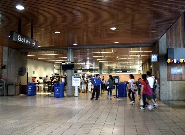 TSA security at Honolulu International Airport - Photo: Emily Metcalf