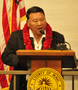 Maui County Mayor Alan Arakawa