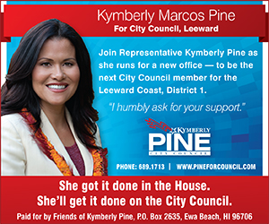 Kymberly Pine for Honolulu City Council