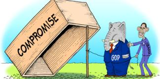 Compromise trap cartoon