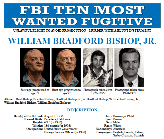 Wanted by the FBI: Bishop