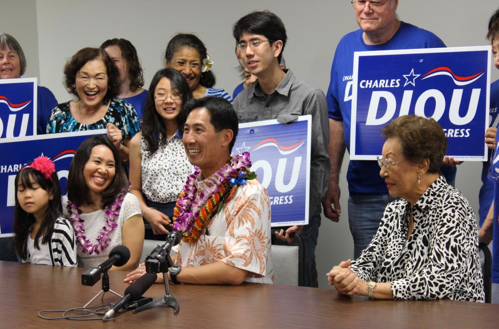 Congressman Charles Djou files nomination papers