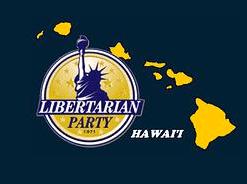 Hawaii libertarian party logo