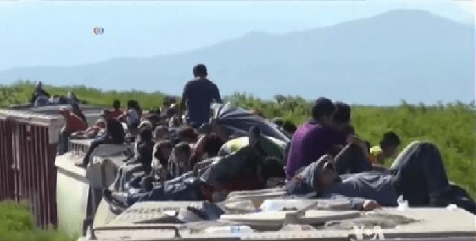 immigrant children crossing America's border