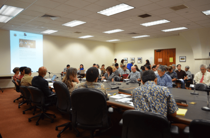 Hawaii lawmakers held a joint Senate and House informational briefing on July 23, to learn more about affordable housing needs in Hawaii - Photo courtesy of Senate Communications