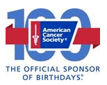 100th Anniversary logo Cancer Society