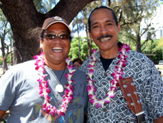 Walter Keale and Dale Kanae