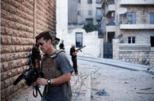 James Foley, Syria, 2012. Photo: Manu Brabo.
