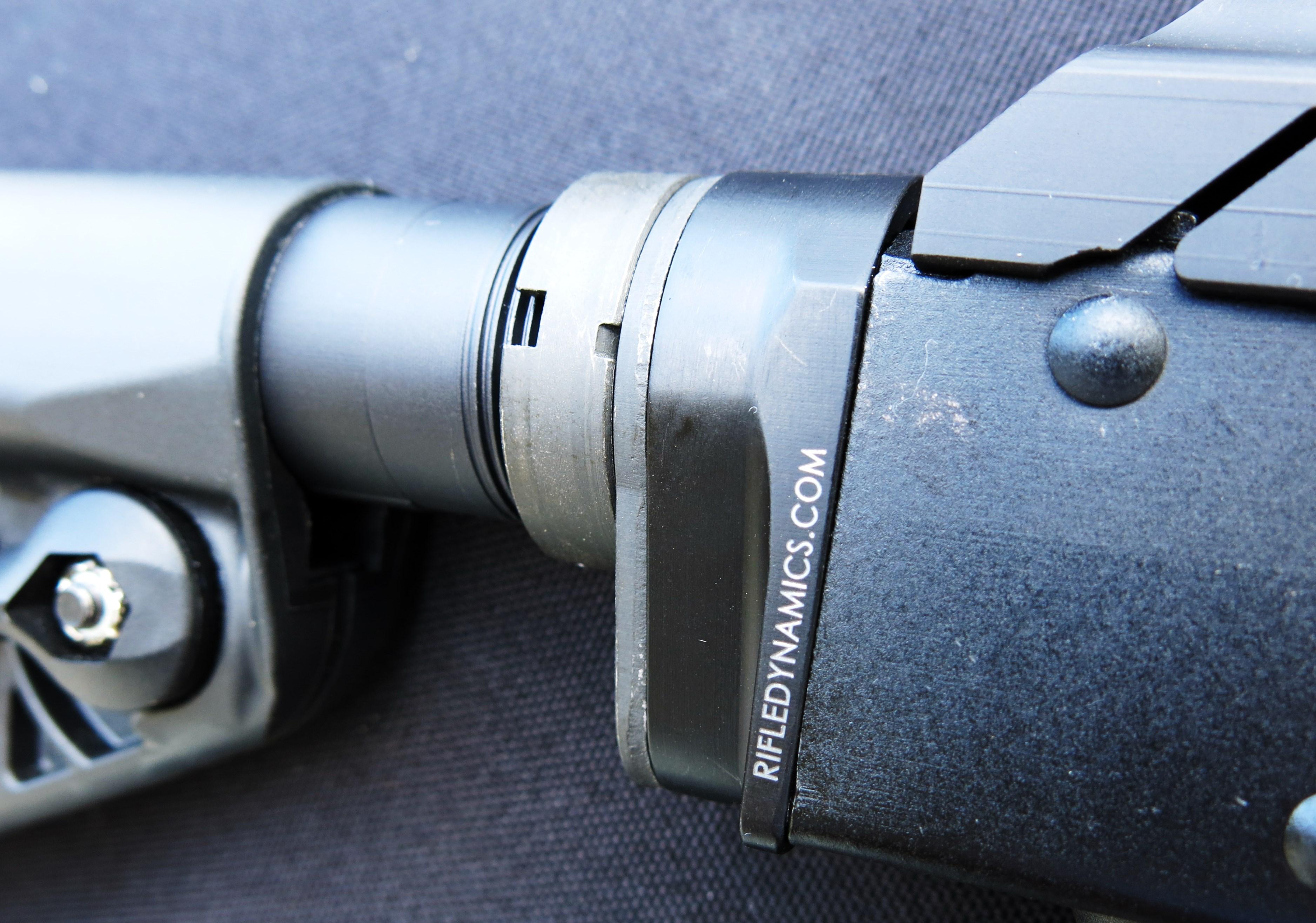 AK Essentials Series--Rifle Dynamics AK to M-4 Stock Adapter