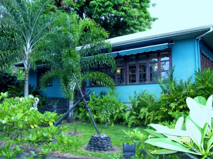 James Norman Hall Home in Tahiti