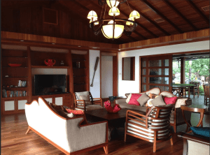 LUXURY: Kailua villa is where the first family spends Christmas.