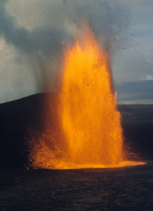 Lava Fountain