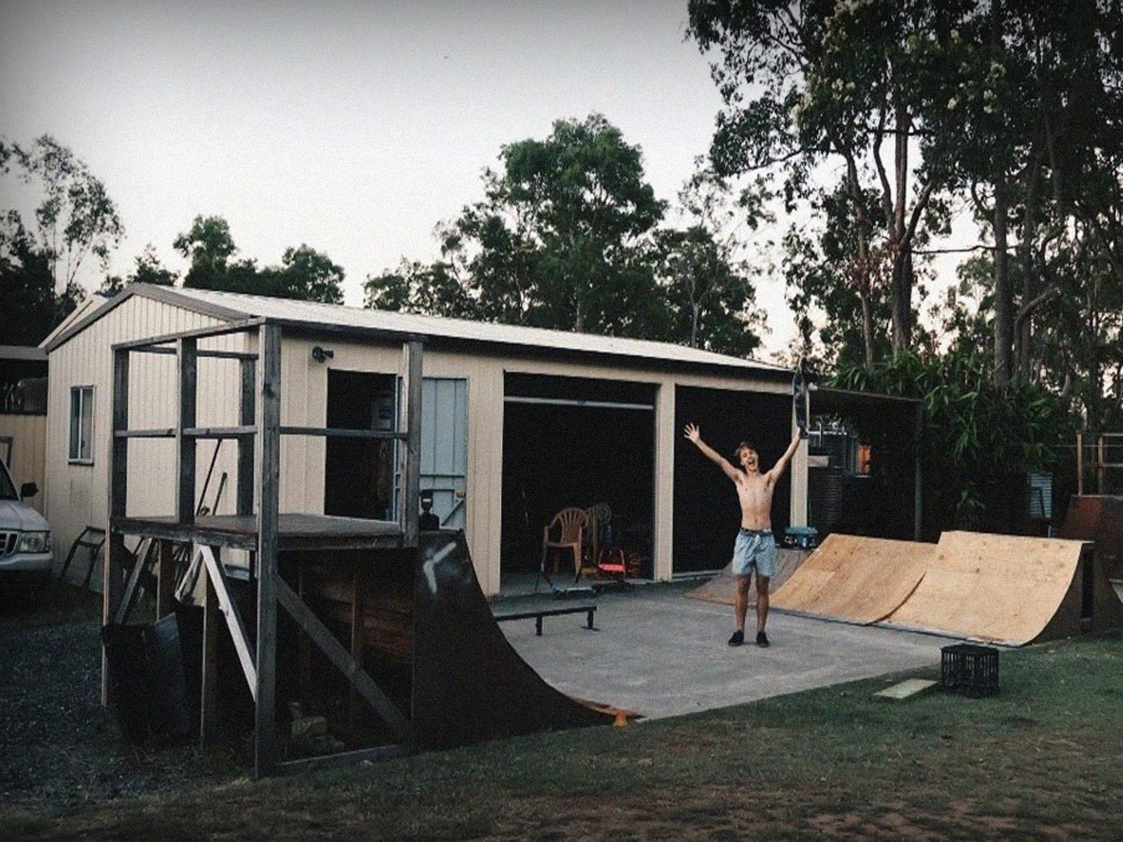 como construir uma pista de skate