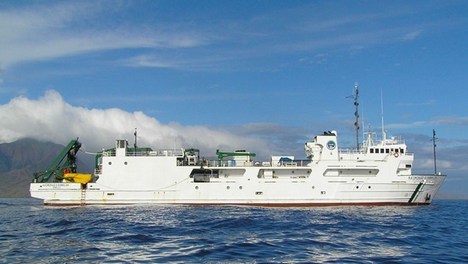 Research Vessel Kaʻimikai-O-Kanaloa
