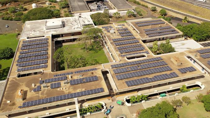 Leeward Community College nears 'net zero' energy use