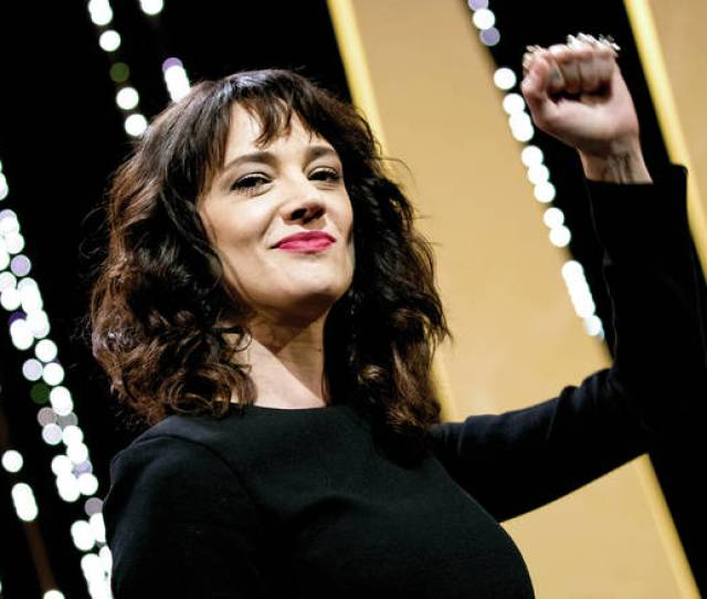 File In This May 19 2018 File Photo Actress Asia Argento Gestures During The Closing Ceremony Of The 71st International Film Festival In Cannes France