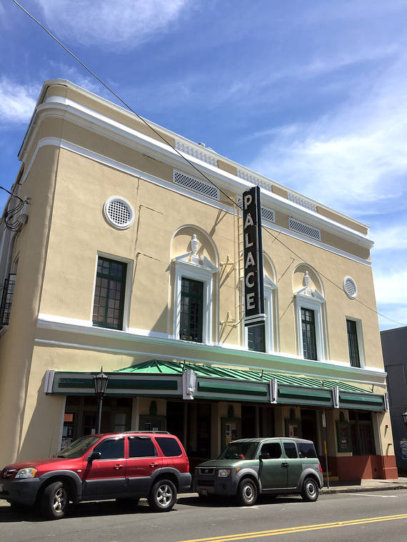Palace Theater gets a facelift