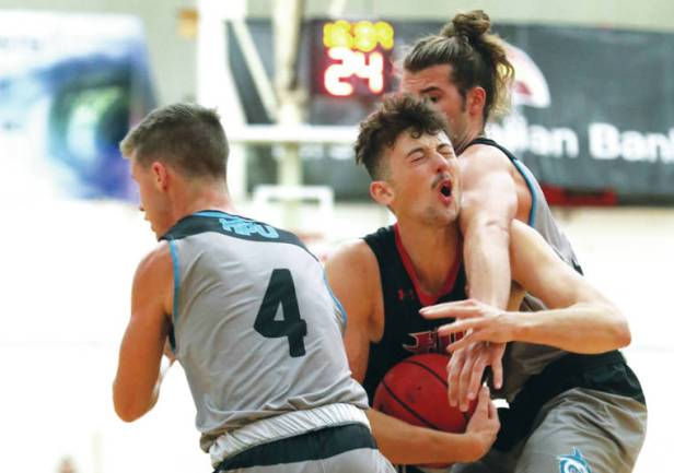 To repeat sweep, Vulcans' degree of difficulty will increase at Hawaii Pacific