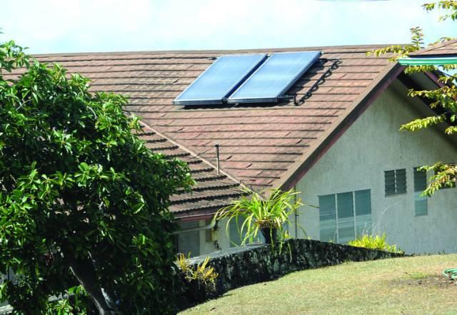 Solar water tax break program dims