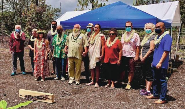 Hawaiian healing herbal garden inaugurated in Pahoa