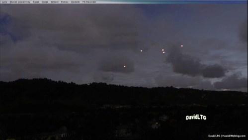 UFO Over Oahu - New Night Shot