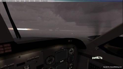 UFO Over Oahu - Out Window