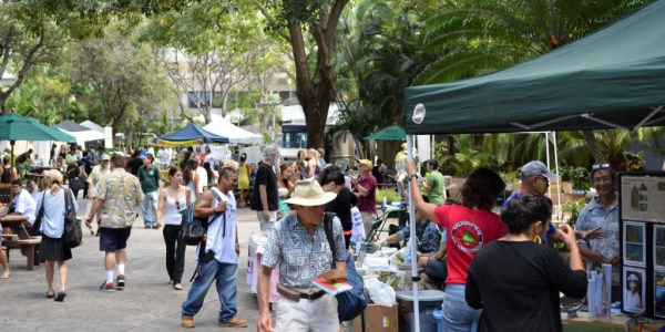 Earth Day at UH Manoa 2014