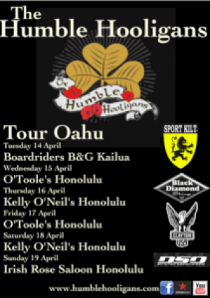 Humble Hooligans Hawaii Tour 2015