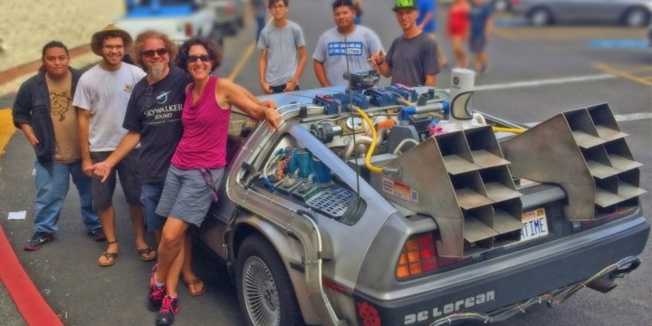 hawaiicon-2015-delorean