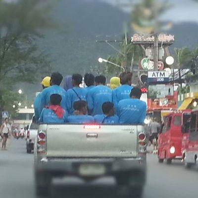 乗り過ぎ?Overloading?#乗り過ぎ #overloading #タイ #thailand #プーケット #phuket