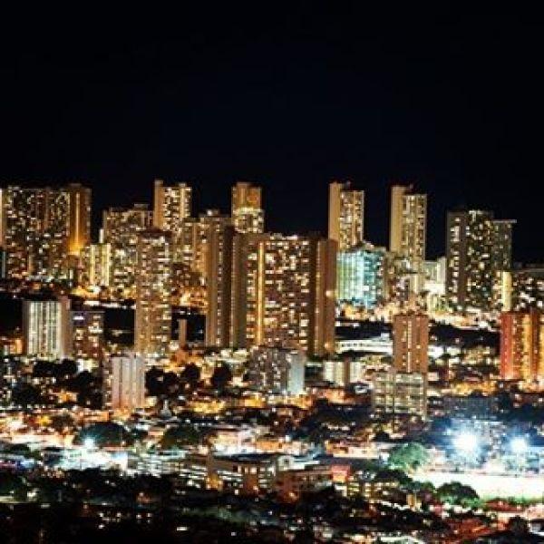 ハワイ Hawaii#ハワイ #Hawaii #ホノルル #Honolulu #夜景 #nightview