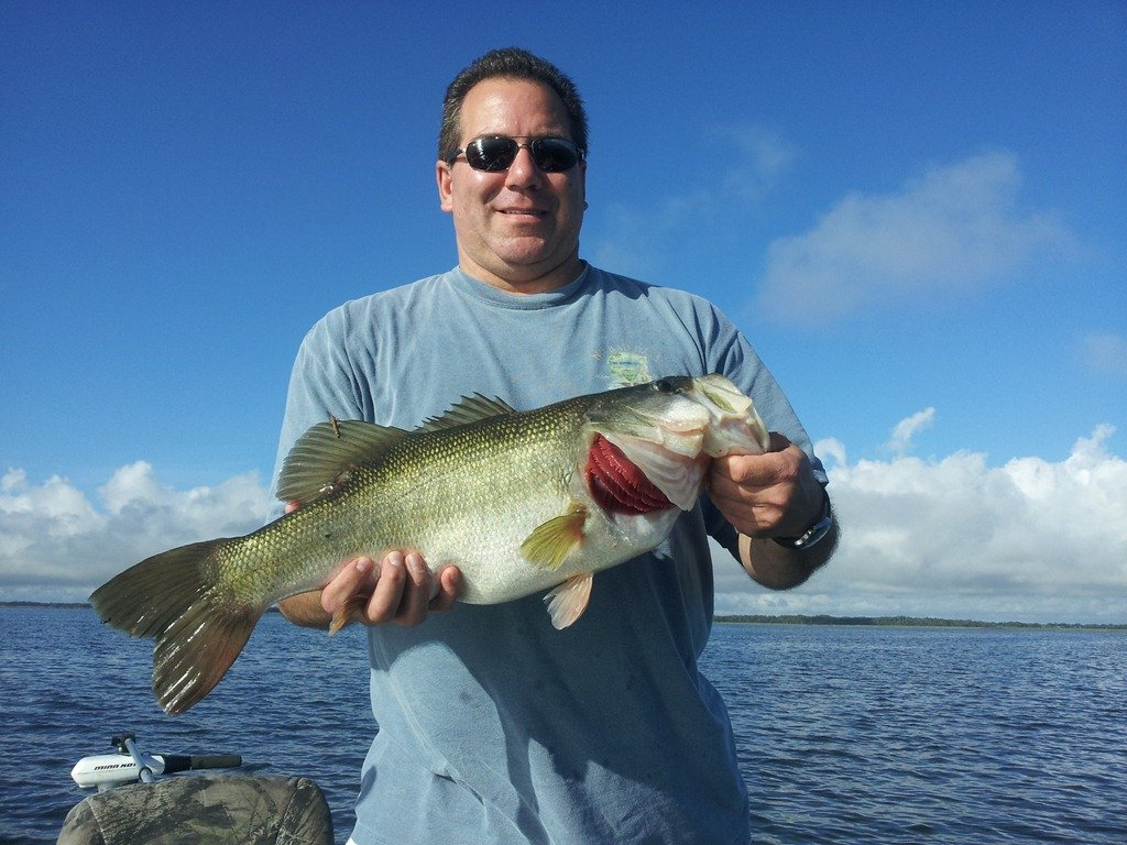 Trophy bass fishing orlando this week for Bass fishing orlando