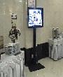standing tv plasma, sewa standing tv, rental standing tv, penyewaan standing lcd tv