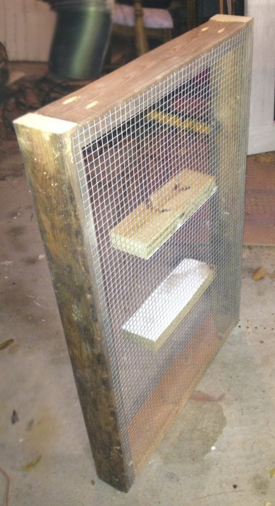 this frame with mesh top makes it easy to grow fresh greens even in a crowded chicken coop 52