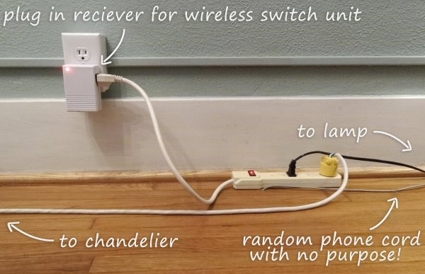 how to add a wireless lightswitch to light a room without a hardwired outlet