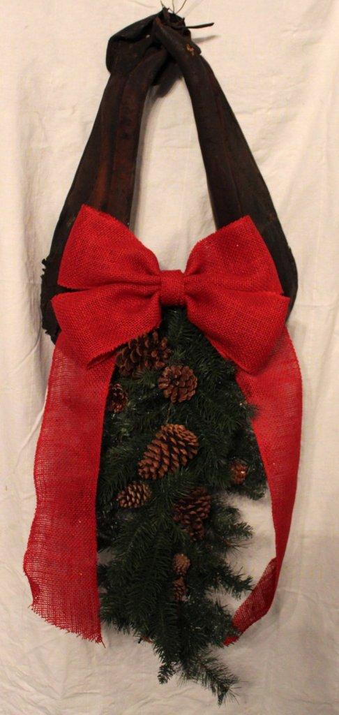 antique horse collar wreath