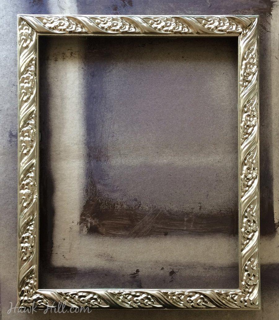 Antique frame Large Diy Antiqued Gold Frames 55 Shutterstock Diy My Method For Creating An Antique Gold Patina Finish On Frames