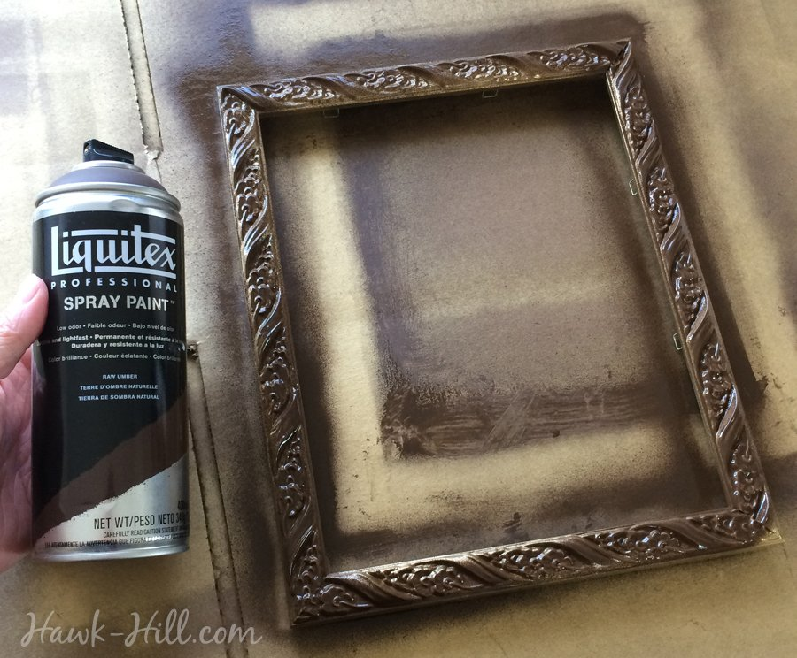 Diy My Method For Creating An Antique Gold Patina Finish On Frames