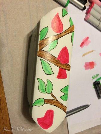 DIY custom horse brushes instruction #51