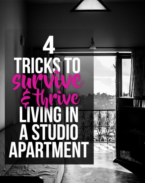 tips to live well in a tinyhouse, studio, or dorm