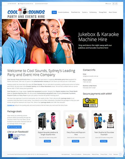 Cool Sounds Party and Events Hire